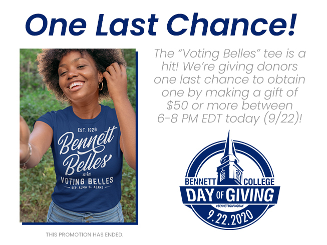 Voting belles tee promo over