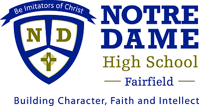 Notre Dame High School Fairfield Logo