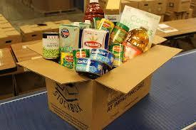 Box canned goods