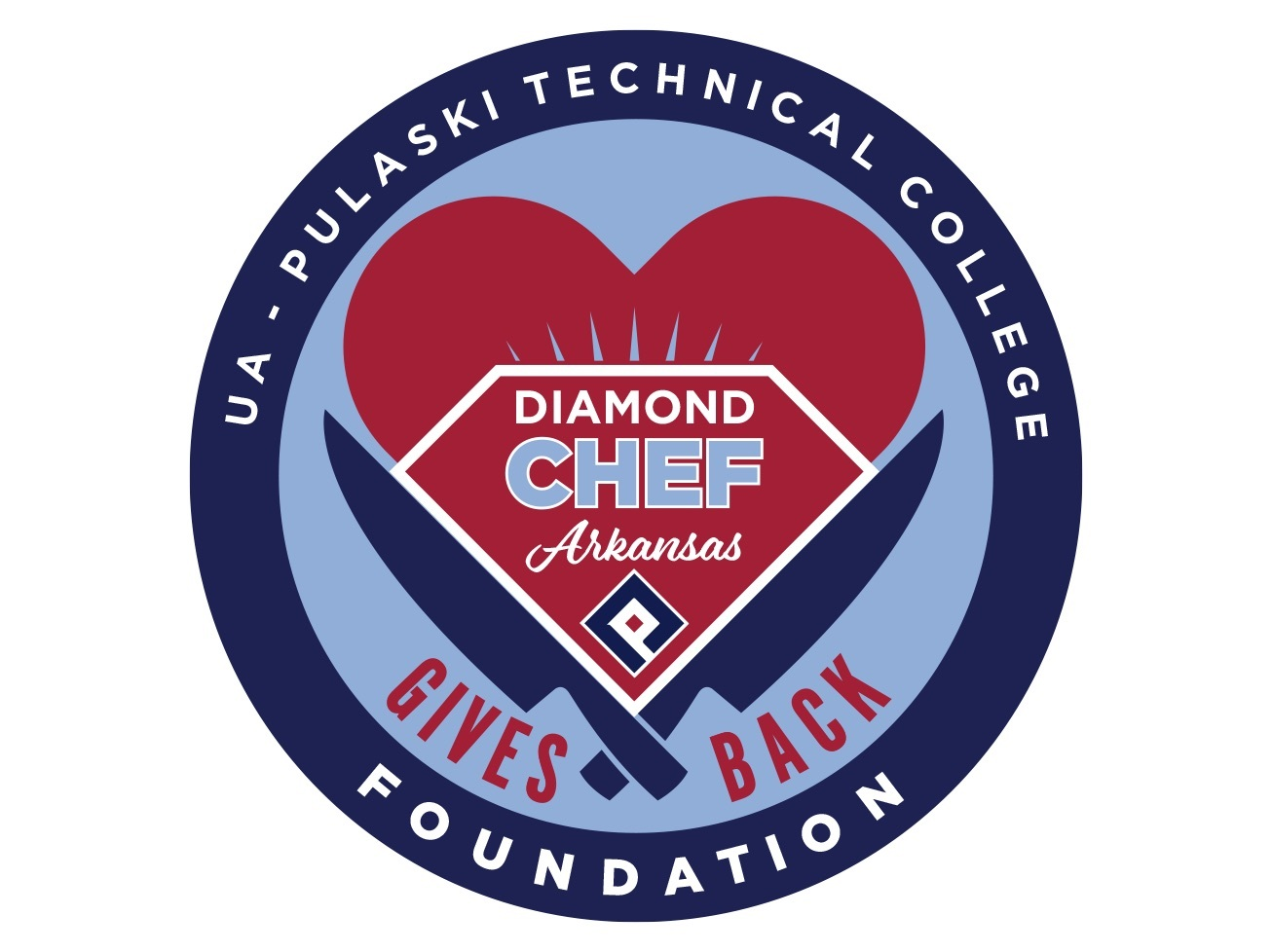 Diamond chef   gives back logo