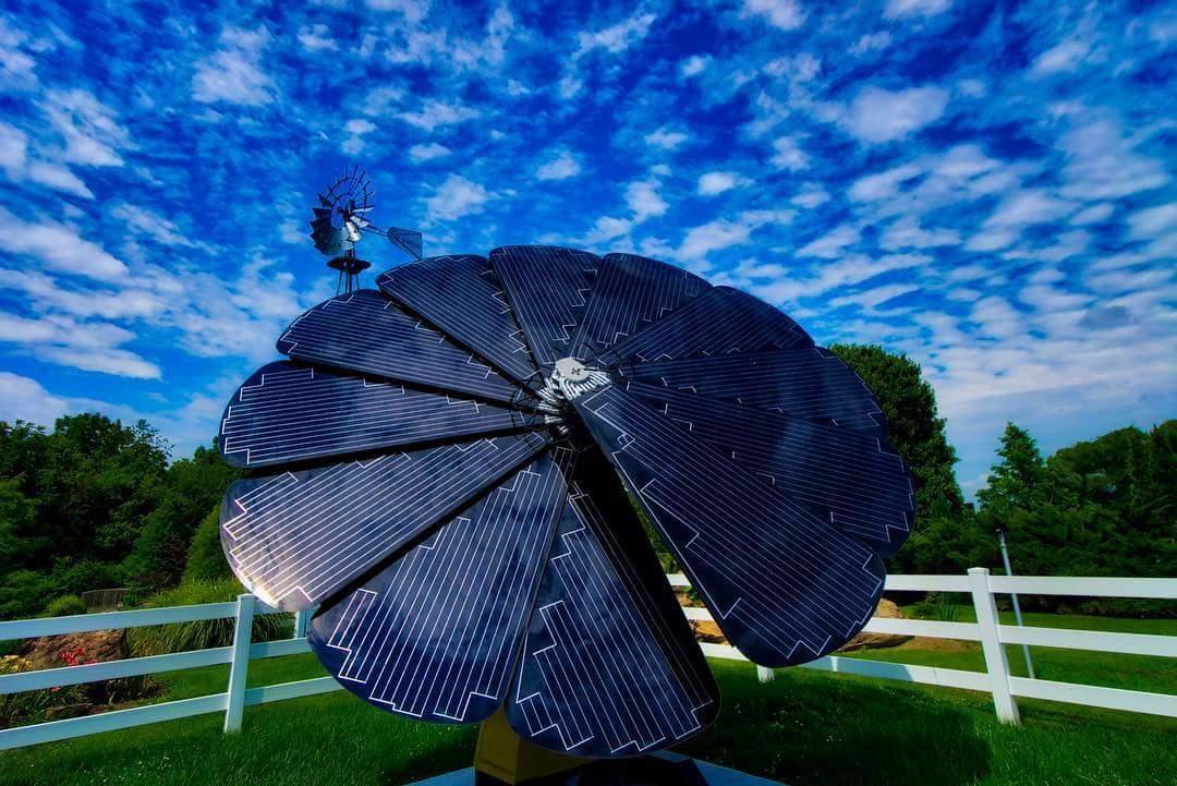 Solar smartflower project