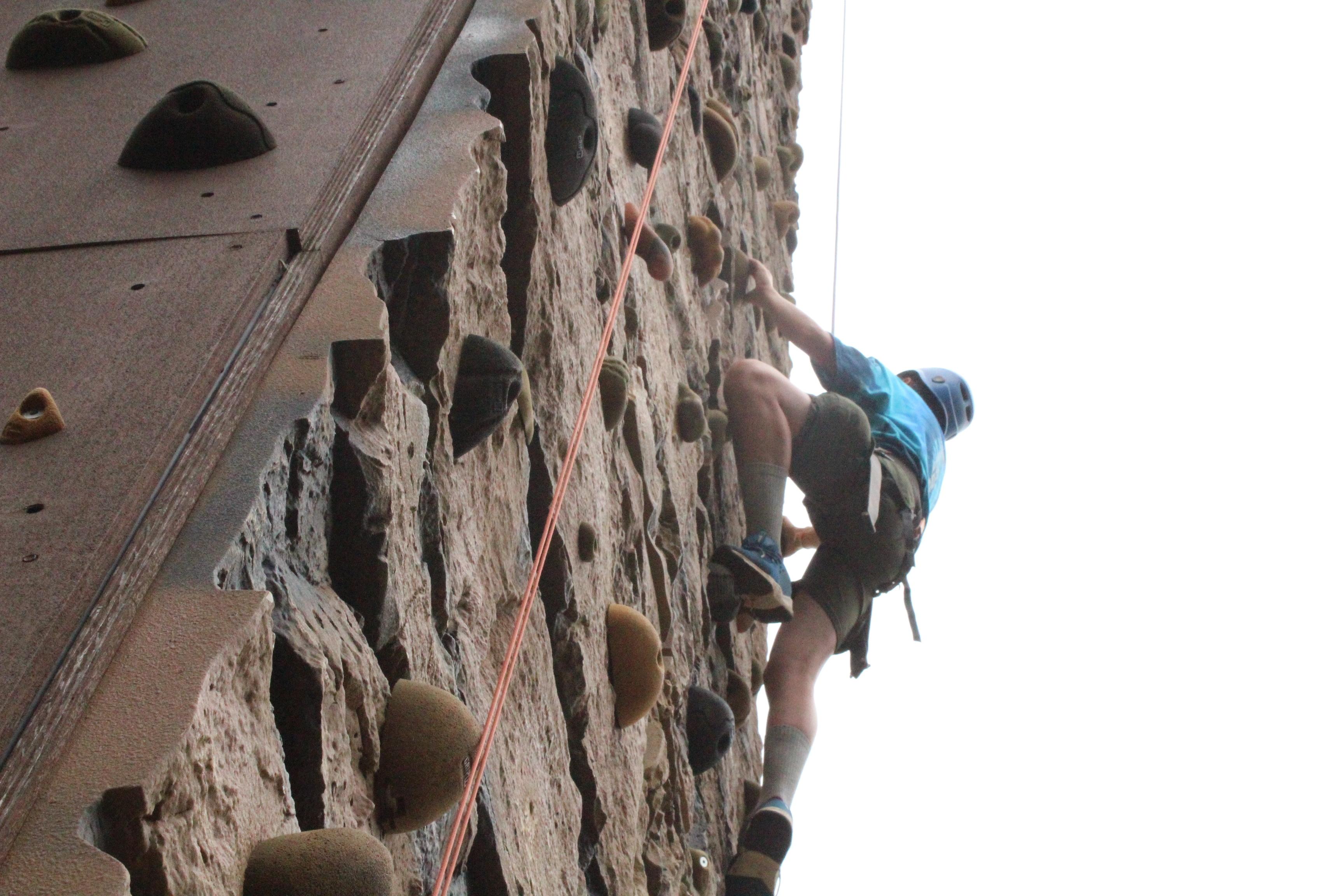 Samoset climbing photo
