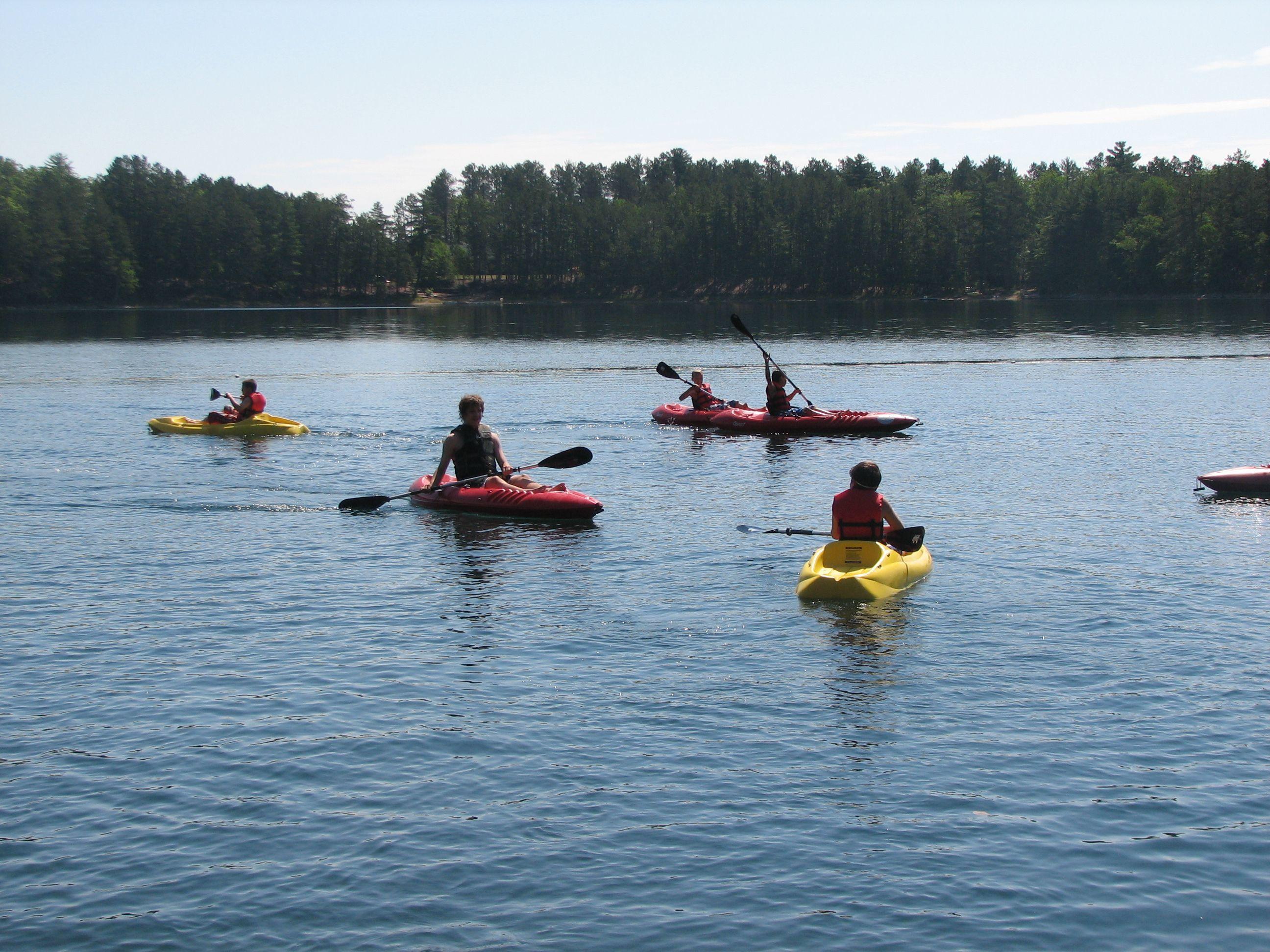 Samoset kayaking