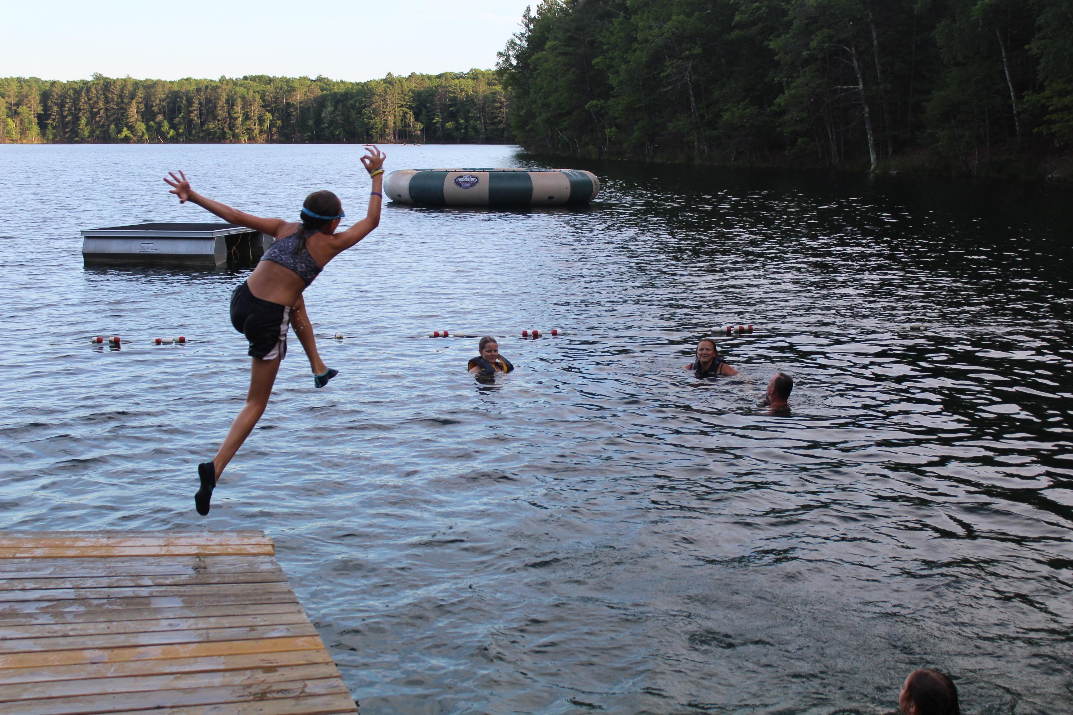 Samoset camp swimming