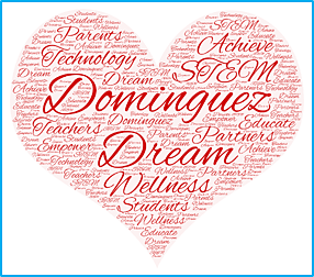 The Dominguez Dream in Memory of H. Frank Dominguez Logo
