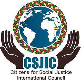 Citizens for Social Justice International Council / ዜጎች ለማህበራዊ ፍትህ አለምአቀፍ ካውንስል  Logo