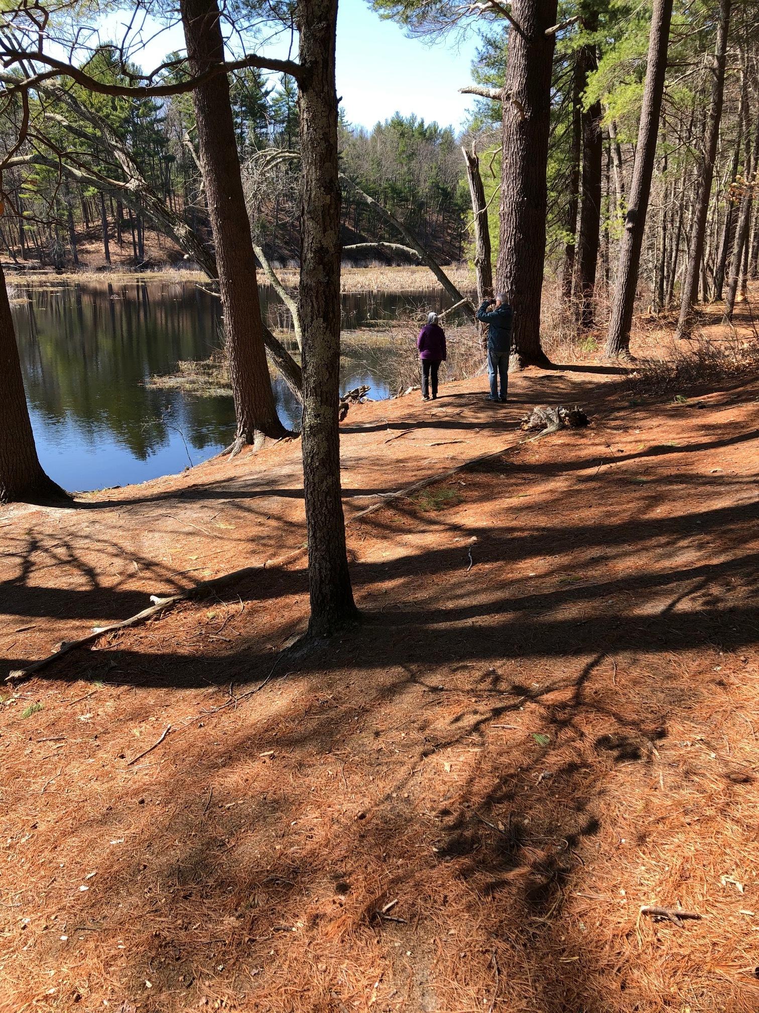 Ebc harmons on pond trail
