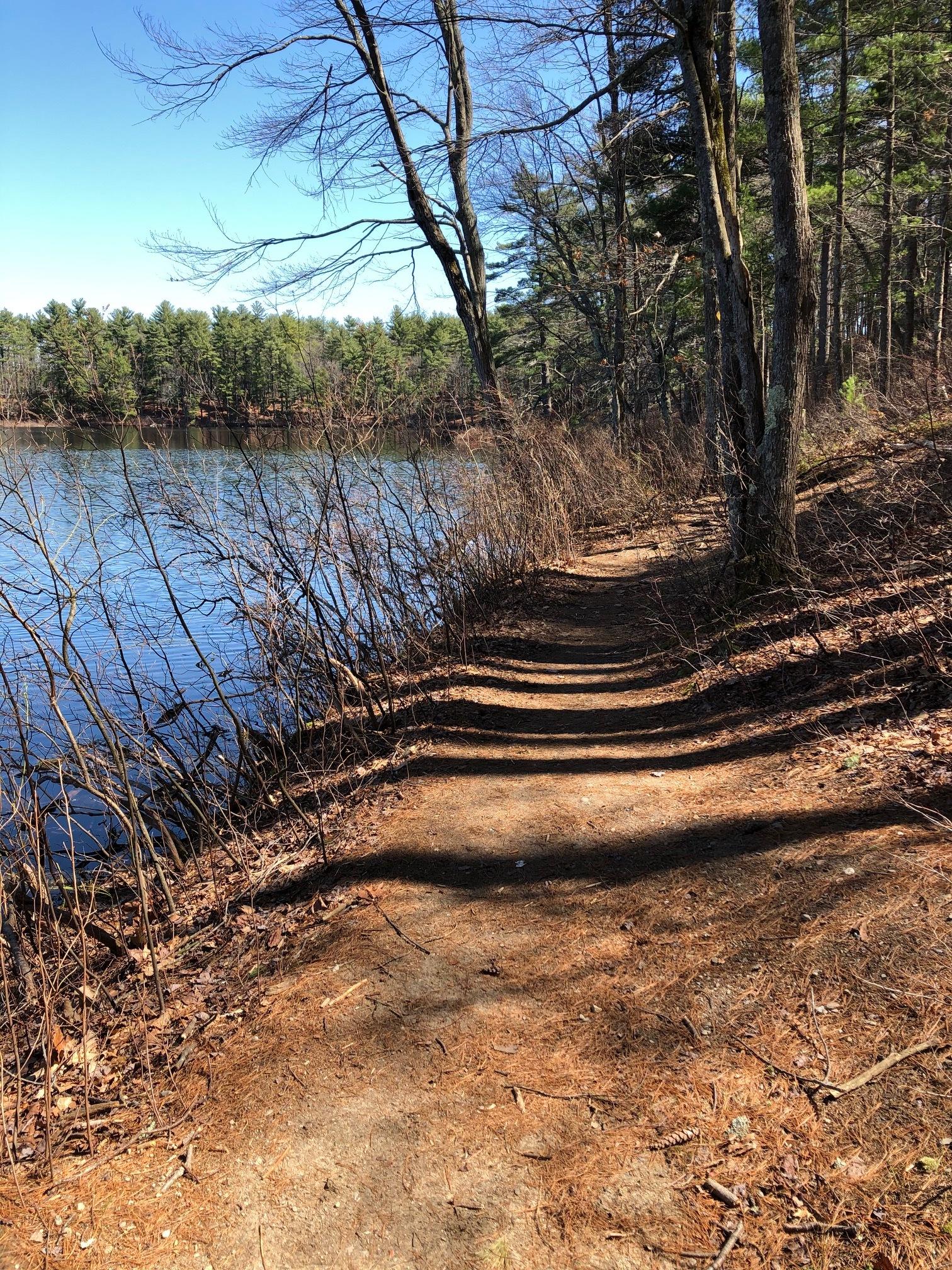 Ebc pond trail