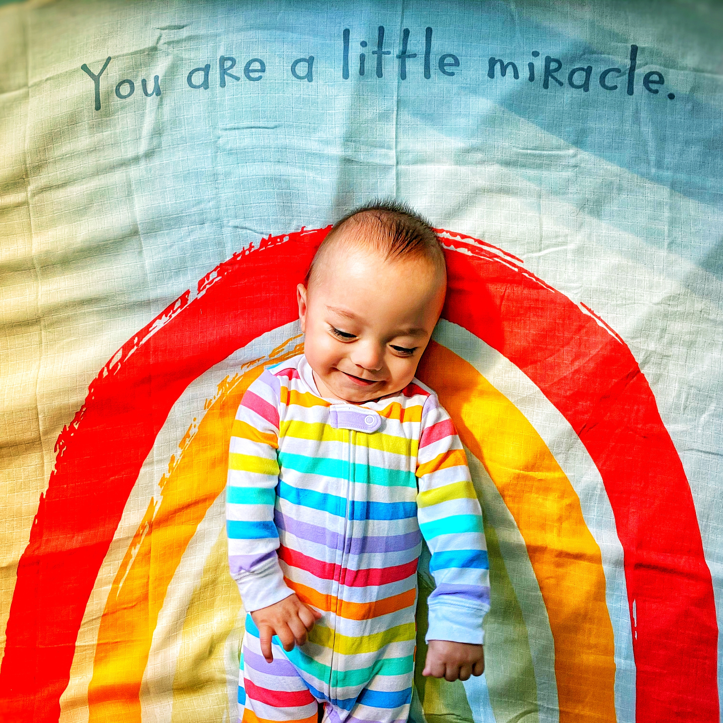 You are a little miracle
