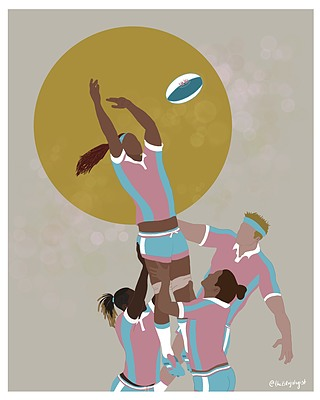 Trans equality in sports art