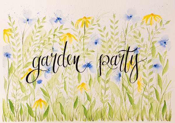 Garden party mc logo painting