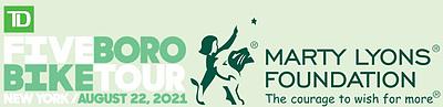 The Marty Lyons Foundation Logo