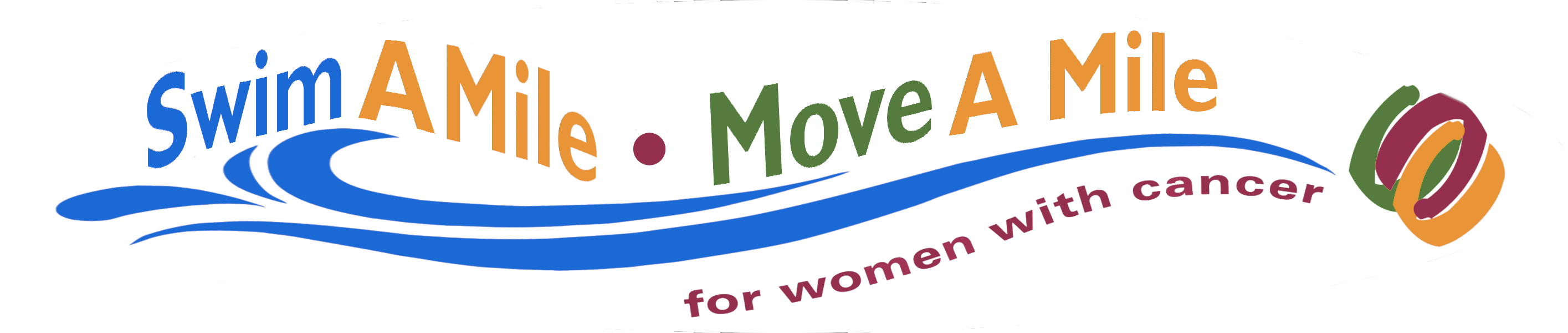 Swim a Mile Logo