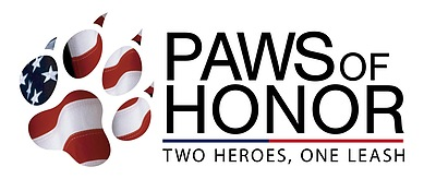 Paws of Honor Logo