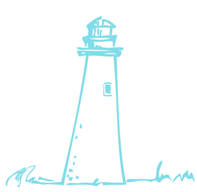 Lighthouse blue