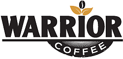 Warrior coffee logo