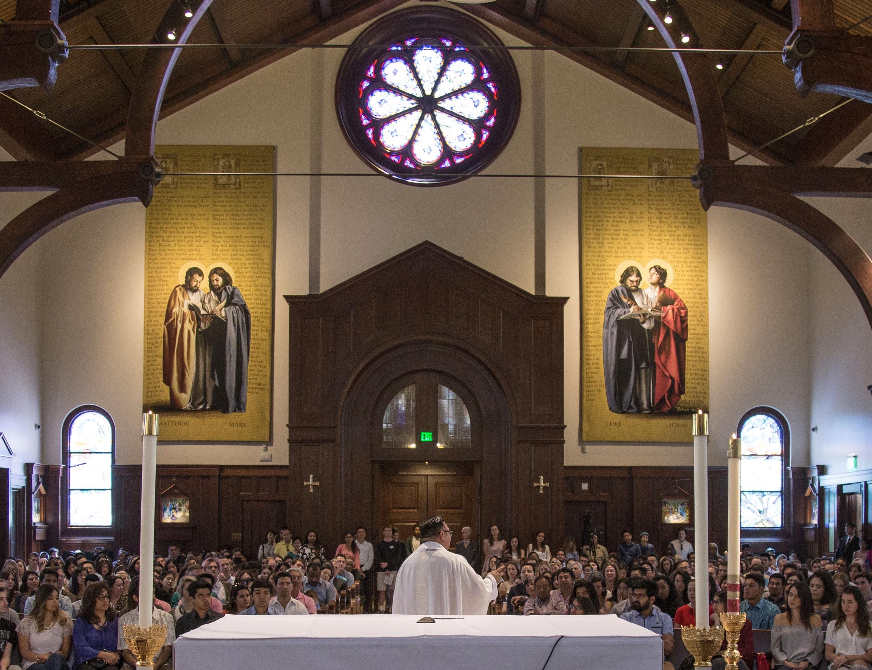 Congregation interior