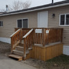 Mobile Home for Rent: 2 Bed, 1 Bath Home At Calgary Village, Calgary, AB