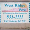 Mobile Home Park: West Ridge Park, Albuquerque, NM