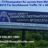Billboard for Rent: #212 Rt.73 Near Rt.130 Overpass Pennsauken NJ, Pennsauken Township, NJ
