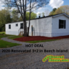 "Mobile Home for Sale: HOT DEAL ""Move in Ready"" Renovated 3+2 w/Land!, Beech Island, SC"