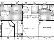 New Mobile Home Model for Sale: Triana by Platinum Homes
