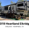 RV for Sale: 2019 ELKRIDGE 40FLFS
