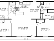 New Mobile Home Model for Sale: Elmhurst by Cavco Homes
