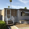 Mobile Home for Sale: Fully Furnished 780sq ft with screened in patio Mobile Home for sale in 55+ Community! lot 198, Mesa, AZ