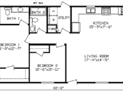 New Mobile Home Model for Sale: Camrose by Cavco Homes
