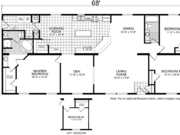 New Mobile Home Model for Sale: Desoto by Champion Home Builders