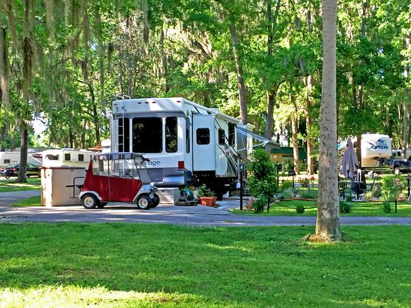 Ocala North Rv Park Mobile Home Park For Sale In Reddick