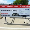Billboard for Sale: 3'x8' Mobile Billboard/Truck Sign, Denver, CO