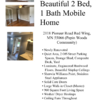Mobile Home for Sale: Beautiful 2 Bed, 1 Bath, Newly Renovated, Red Wing, MN