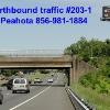 Billboard for Rent: I-295 Northbound traffic @ Creek Rd. #203-1, Bellmawr, NJ