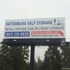 Billboard for Rent: Hattiesburg Self Storage, Hattiesburg, MS