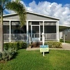 Mobile Home for Sale: Lovely 3 Bed/2 Bath With Nice, Long Front Screened Porch, Melbourne, FL
