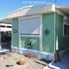 Mobile Home for Sale: Updated fully furnished 2 bedroom 1-1/2 bathroom single wide 12 x 52 in 55 and older quiet park lot 243, Apache Junction, AZ