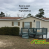 Mobile Home for Sale: Rent to own! 3+2 DEAL in Hephzibah Ga, Augusta, GA