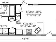 New Mobile Home Model for Sale: Countryside by Cavco Homes