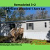 Mobile Home for Sale: Remodeled 3+2 on Private Wooded 1Acre Lot in Leesville Sc!, Leesville, SC
