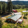 Mobile Home for Sale: Manuf, Triple Wide Manufactured > 2 Acres - Manuf, Triple Wide, Priest River, ID