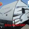 RV for Sale: 2016 PASSPORT 234QBWE