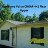 Mobile Home for Sale: Awesome Value CHEAP 4+2 Fixer Upper!, Aiken, SC