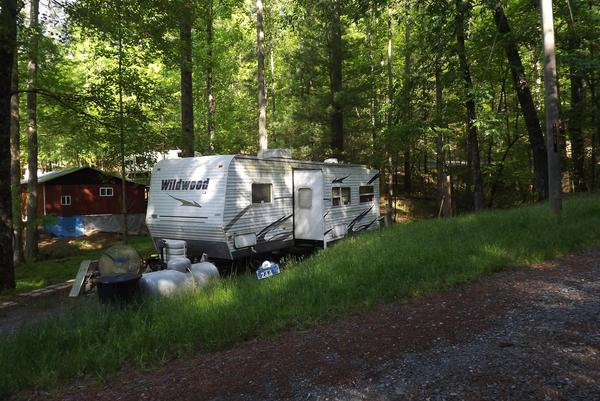 lot and 30 ft camper - RV lot for sale in Ellijay, GA 686337