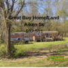 Mobile Home for Sale: Great Buy Home/Land in Aiken Sc!, Warrenville, SC