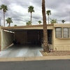 Mobile Home for Sale: Cozy Park Model home in Spring Haven 55+ in Mesa! lot F-36, Mesa, AZ