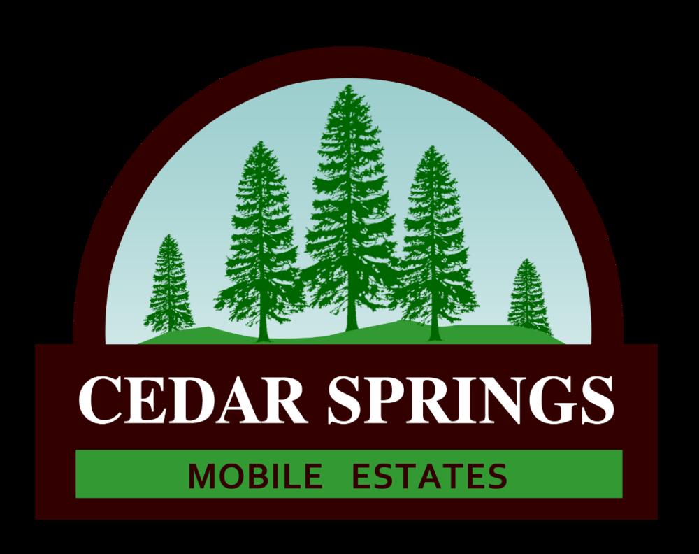 Cedar Springs Mobile Estates Logo
