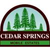 Mobile Home Park: Cedar Springs Mobile Estates, Cedar Springs, MI