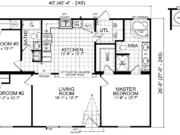 New Mobile Home Model for Sale: Arcola by Champion Home Builders